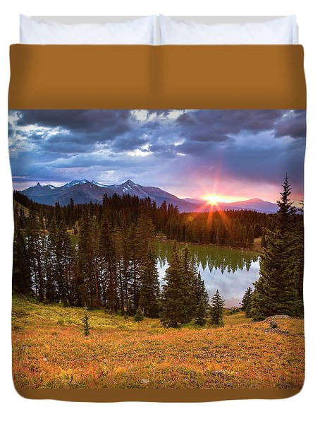 Alta Lakes Duvet Cover