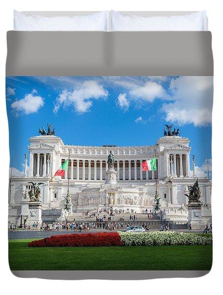 Altare Della Patria-3344 Duvet Cover
