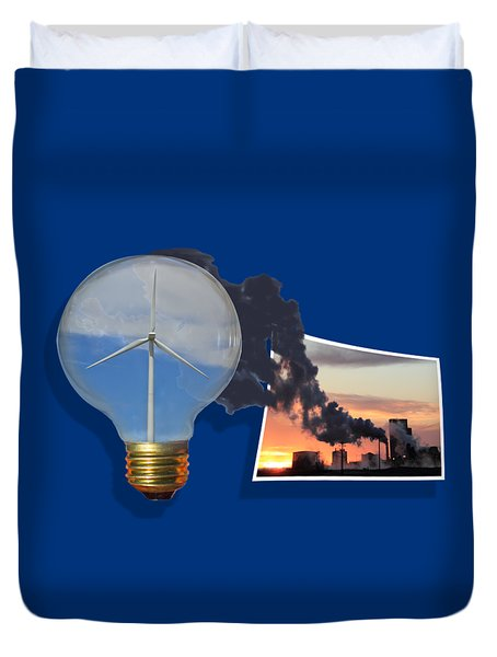 Alternative Energy Duvet Cover