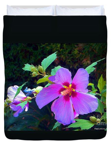 Althea Blossom Duvet Cover
