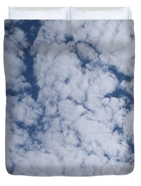Altocumulus Abstract 1 Duvet Cover