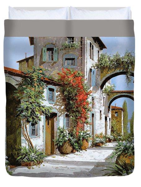 Altri Archi Duvet Cover by Guido Borelli