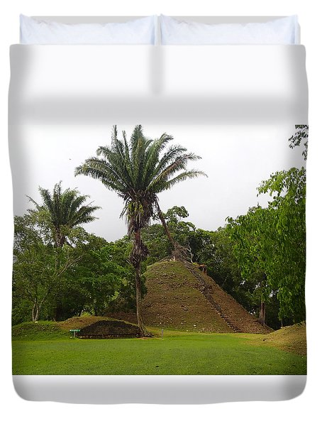 Altun Ha #2 Duvet Cover by Lois Lepisto