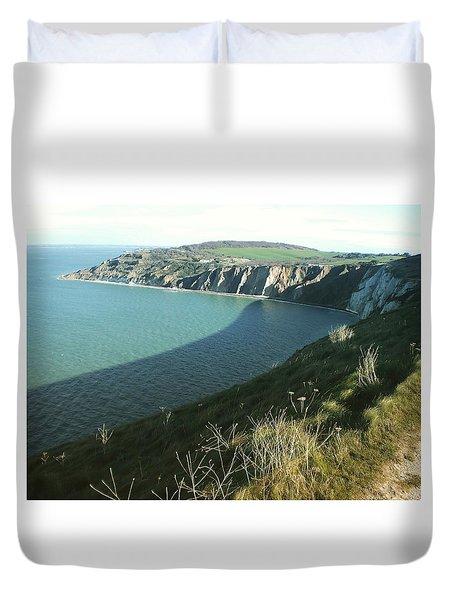 Alum Bay, Isle Of Wight Duvet Cover