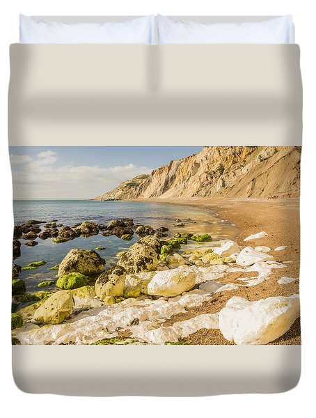 Alum Bay Peace Duvet Cover