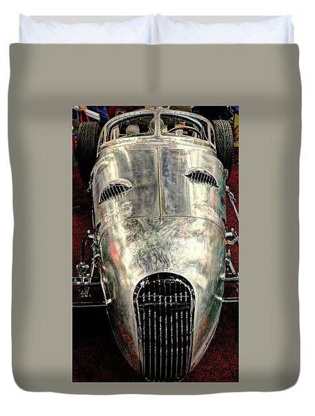 Aluminum Roadster  Duvet Cover