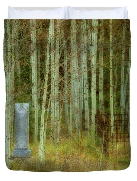 Alvarado Cemetery 41 Duvet Cover