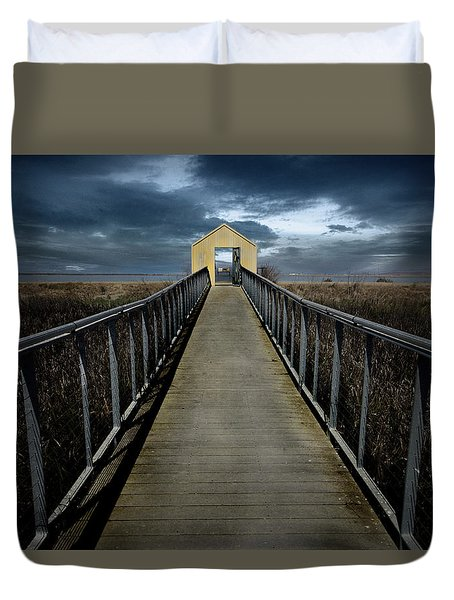 Alviso, California Duvet Cover