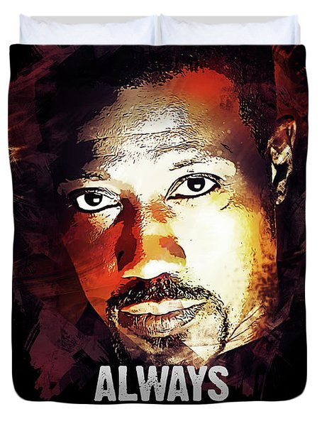 Always Bet On Black - Passenger 57 Duvet Cover