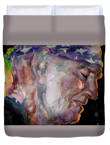 Always On My Mind 3 Duvet Cover by Laur Iduc