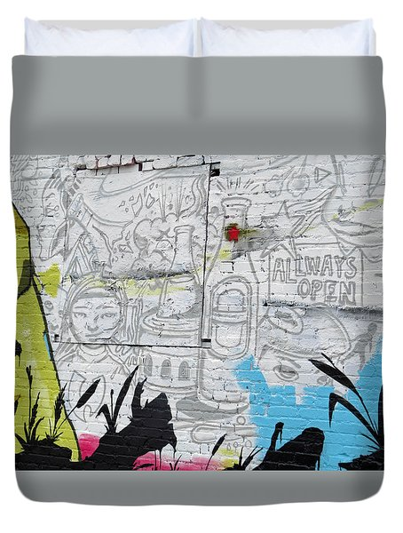Always Open Duvet Cover