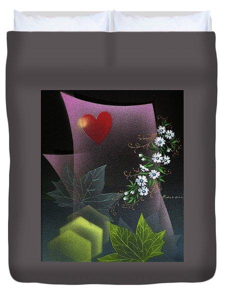 Always Spring For Love Duvet Cover