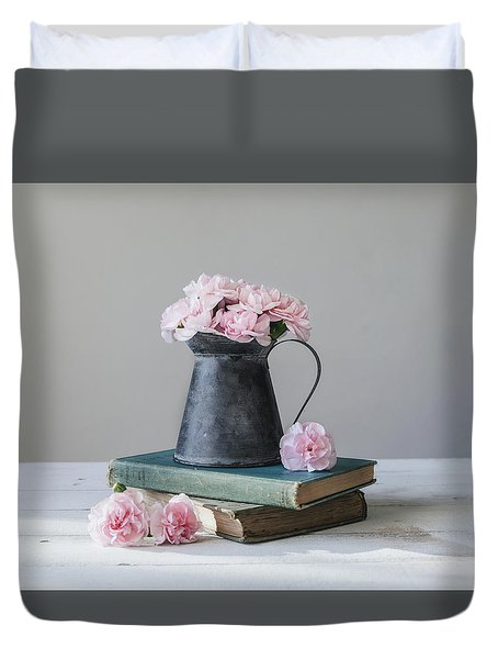 Duvet Cover featuring the photograph Always With Me by Kim Hojnacki