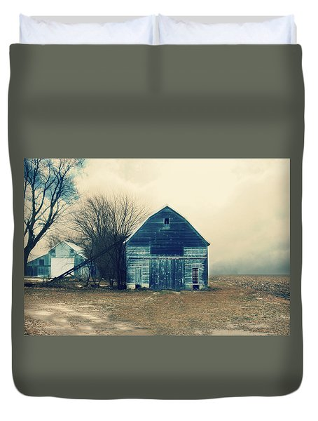 Duvet Cover featuring the photograph Always Work To Do by Julie Hamilton