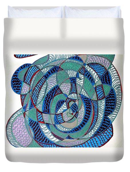 Alyssum Duvet Cover