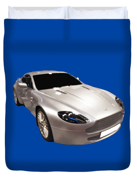 Am Sports Car Art Duvet Cover