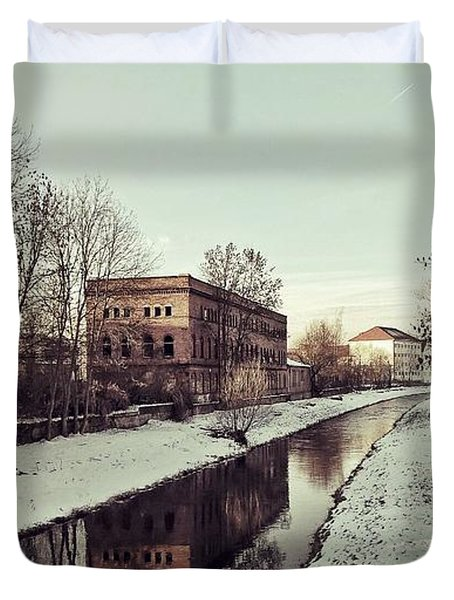 Am Zorge-ufer Duvet Cover