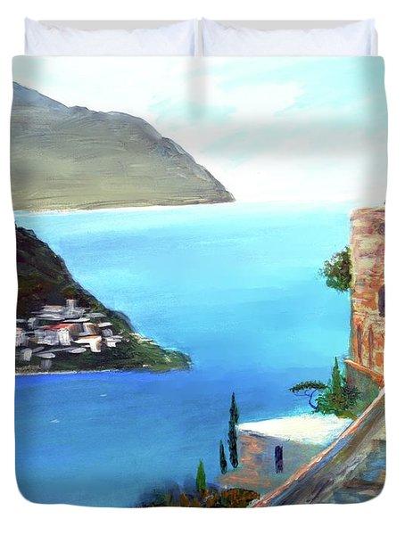 Amalfi Gem Duvet Cover