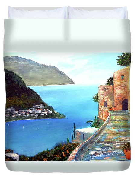 Amalfi Gem Duvet Cover