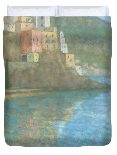 Amalfi Duvet Cover by Steve Mitchell
