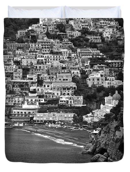 Amalfi's Positano Duvet Cover