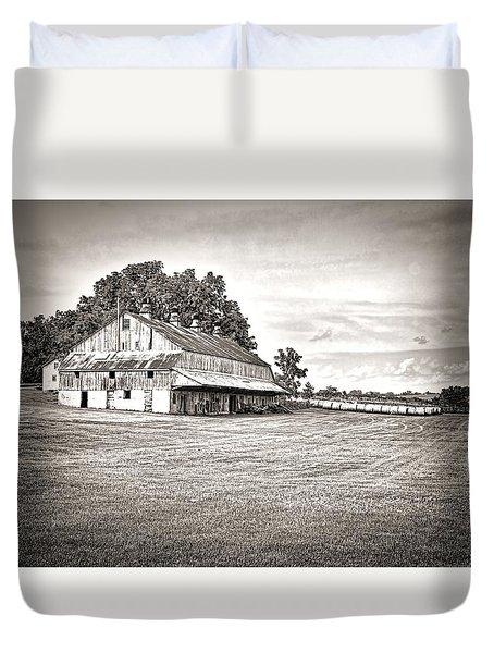 Amana Colonies Farm House Duvet Cover by Scott Hansen