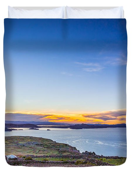 Amantani Sunset Duvet Cover