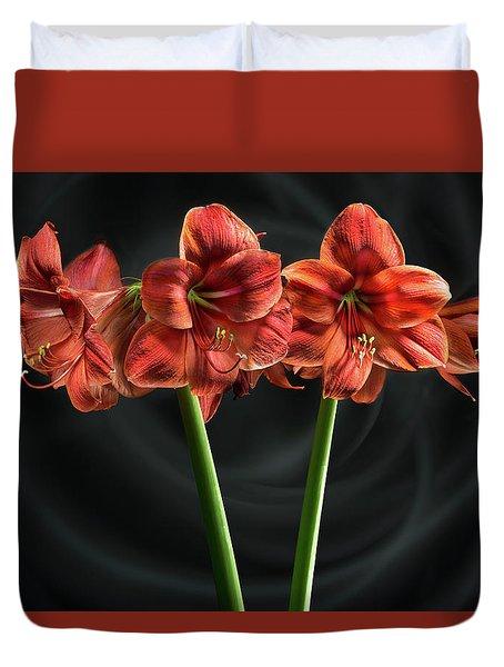 Amarilis Duvet Cover
