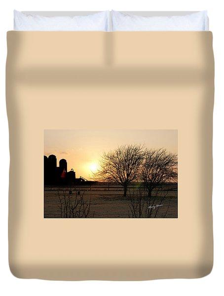 Amarillo Sunset Duvet Cover