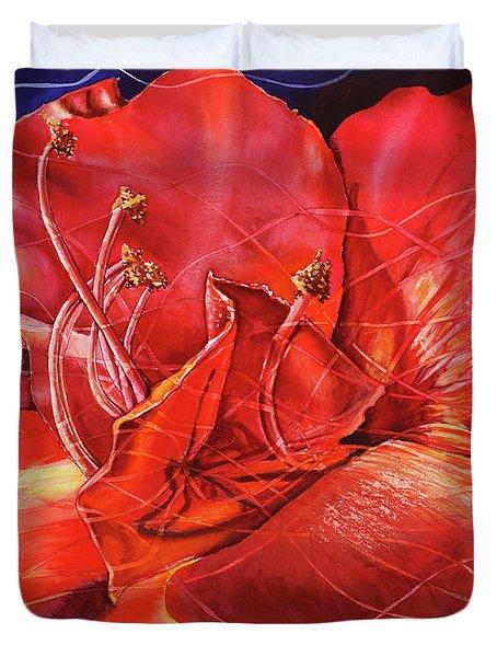 Amaryllis 2 Duvet Cover