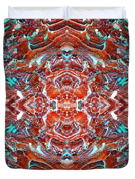 Amassed Existence Duvet Cover
