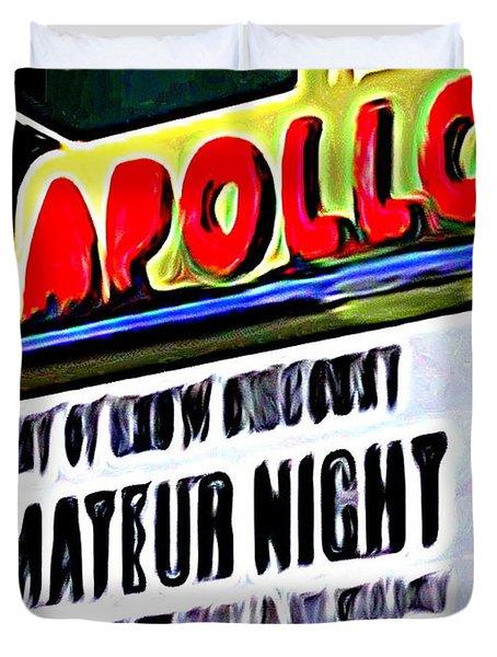 Amateur Night Duvet Cover