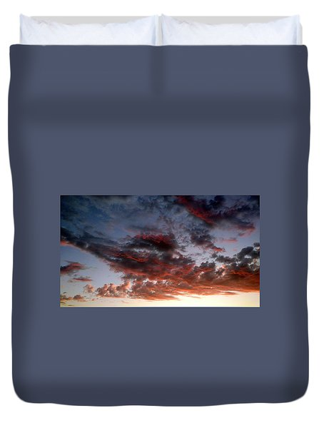 Spectacular Clouds  Duvet Cover