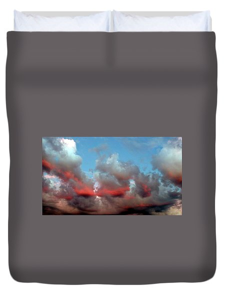 Imaginary Real Clouds  Duvet Cover