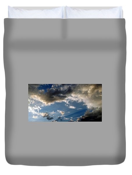 Amazing Sky Photo Duvet Cover
