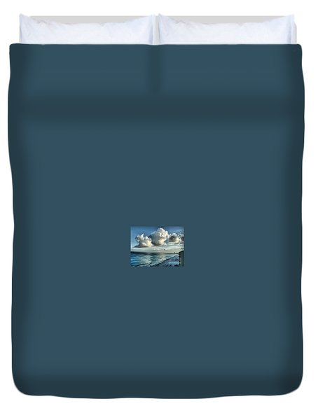Amazing Clouds Duvet Cover by Polly Peacock