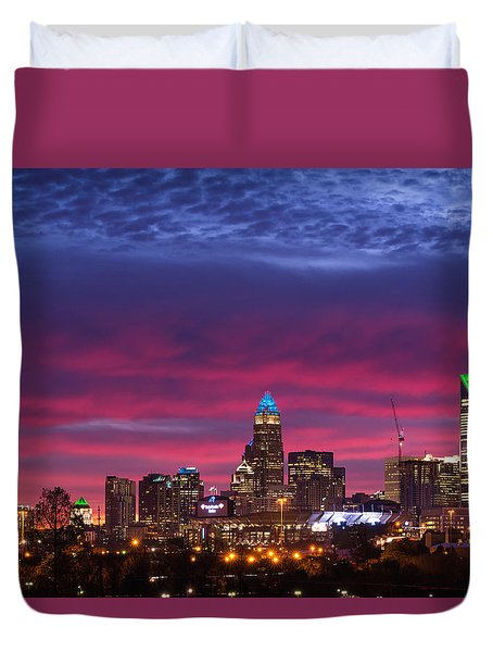 Duvet Cover featuring the photograph Amazing Colors Of Charlotte by Serge Skiba