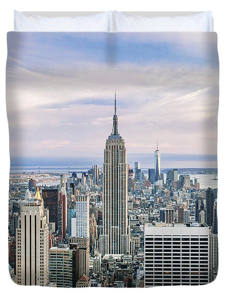 Amazing Manhattan Duvet Cover