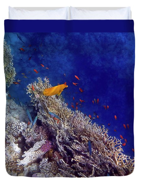 Amazing Red Sea 2 Duvet Cover