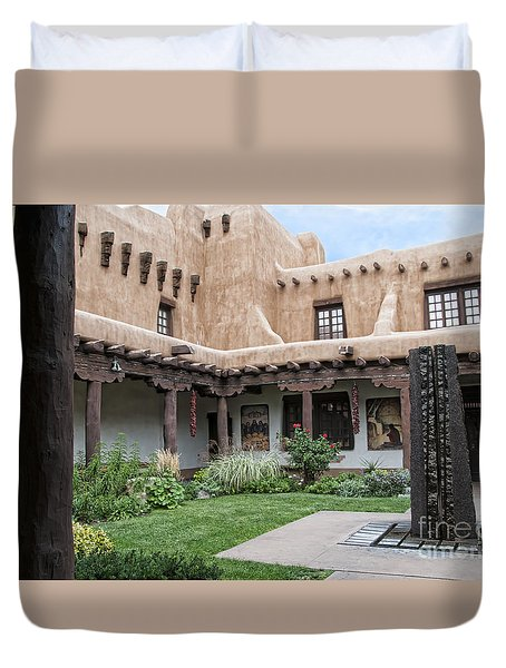 Amazing  Santa Fe Adobe  Duvet Cover
