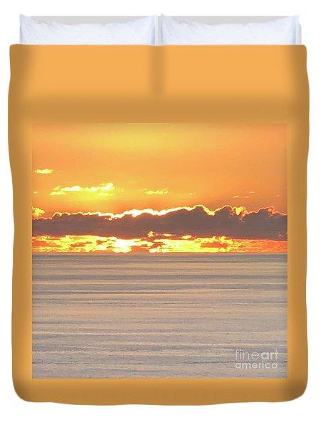 Amazing Sunset Duvet Cover
