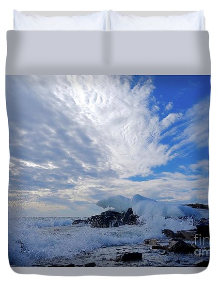 Amazing Superior Day Duvet Cover by Sandra Updyke