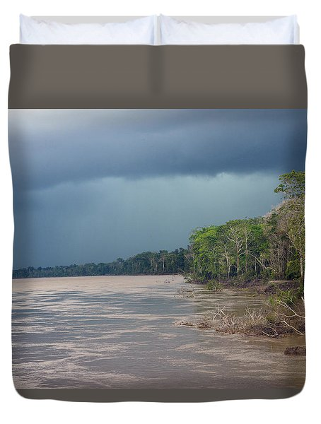Amazonian Storm Study Number One Duvet Cover