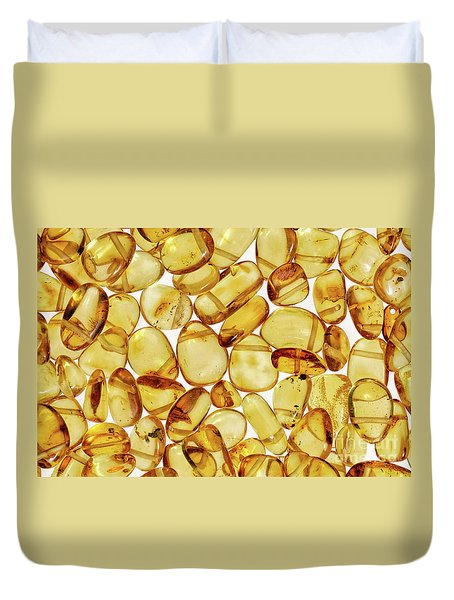 Amber #2h2a0902 Duvet Cover by Andrey Godyaykin