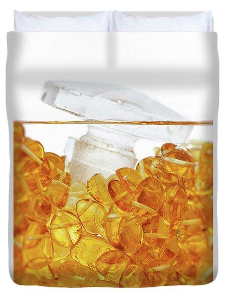 Amber #4983 Duvet Cover