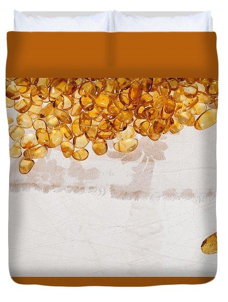Amber #7863 Duvet Cover