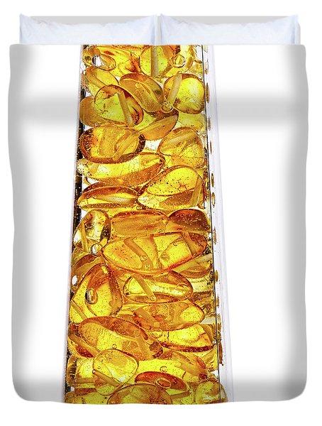 Amber #8527 Duvet Cover