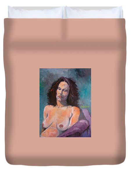 Amber B I Duvet Cover by Ray Agius
