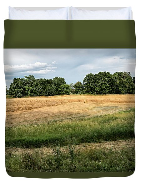 Amber Field -  Duvet Cover