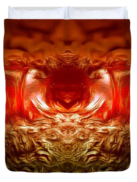 Amber Nightmare Duvet Cover by Anton Kalinichev